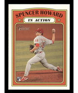 2021 Topps Heritage #106 Spencer Howard NM-MT RC Rookie Phillies In Action - $1.25