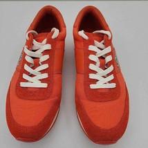 Coach Womens Raylen Fashion Sneakers Shoes Orange 8009159/B17 Trainers 9... - $59.35