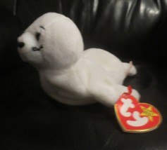 Ty Beanie Baby Seamore 4th Gen Hang Tag & 3rd Gen Tush  Tag PVC Filled NEW - $12.86