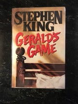 Stephen King- Gerald's Game- Hardcover 1st Edition as new in jacket. - $122.50