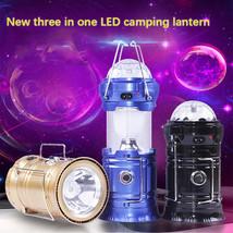 Colour USB Camping Lantern Lamp Portable Outdoor LED Tent Hiking US PLUG - $13.29