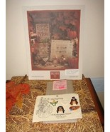 Shepards Bush Pattern Book, 18ct. Fabric And Homespun Heart Thanksgiving... - $29.99