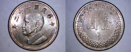 1983 YR72 Taiwan 1 Yuan World Coin - China Formosa - $2.49