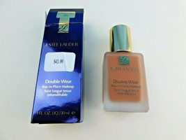 Estee Lauder Double Wear STAY-IN-PLACE Makeup 6C2 Pecan 1 Oz Boxed - $20.58