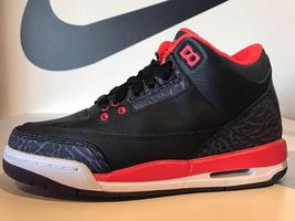 Nike AIR Jordan 3 Retro (GS) 398614-005 - $100.00
