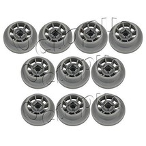 10 Pack 165314 Dishwasher Lower Rack Roller And Clip Fits Bosch - $12.69
