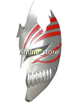 cos3026 Silvery PVC Bleach Kurosaki Ichigo Hollow Half Face Cosplay Mask... - $7.99