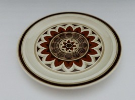 Royal China Omegastone Aztec Pattern USA Brown Tan Geometric Design Dinn... - $9.89