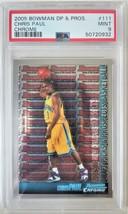 2005 Bowman Chrome Draft Picks & Prospects CHRIS PAUL Rookie RC PSA 9 Mint - $229.99