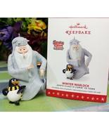 Hallmark Winter Warlock ornament 2016 Santa Claus is Comin to Town - $59.75