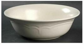 "Pfaltzgraff ""Color Medley Buff Matte"" 8 5/8 Inch Vegetable Serving Bowl Made USA - $10.93"