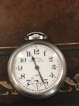 Hamilton Traffic Special Swiss Pocket Watch Montgomery Dial Rare Runs Well - $205.80