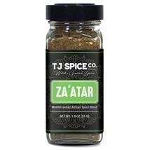 Za%27atar (Zatar/Zaatar/Zahtar) Seasoning Blend by TJ Spice Company | 1.8 oz | T - $7.99