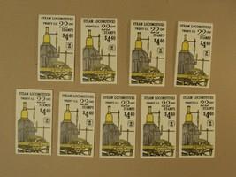USPS Scott 2362-66 22c Steam Locomotives 9 Books 180 Stamps Mint Booklet... - $68.75