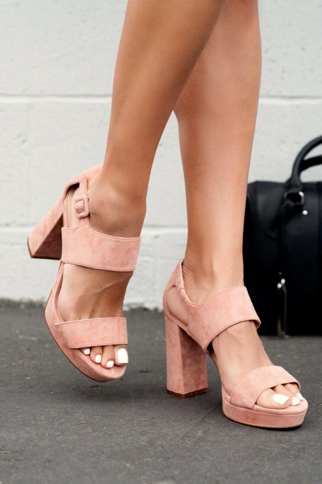 Vince Camuto Jayvid Platform Block Heel Sandals, Multiple Sizes Black VC-JAYVID image 8