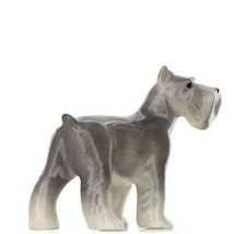 Hagen Renaker Dog Schnauzer Ceramic Figurine