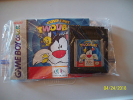 Looney Tunes Twouble (Nintendo Game Boy Color, 1998) WITH MANUAL- AUTH... - $12.99