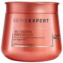 L'Oreal Serie Expert B6 + Biotin Inforcer Advance Masque 250ml Pack by L... - $24.74