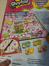 Shopkins Supermarket Scramble Board Game Replacement Parts NEW SEALED - $12.50