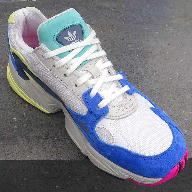 newest 5c584 12ff7 ... Adidas Originals Falcon W Cloud WhiteBlue BB9174 ...