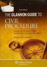 Glannon Guide To Civil Procedure: Learning Civil Procedure Through Multi... - $29.99