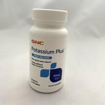 Potassium Plus 99mg GNC 60 Capsules Dietary Supplement Vitamins Pills - $9.99
