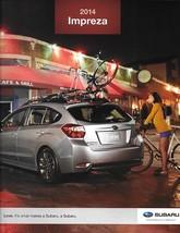 2014 Subaru IMPREZA brochure catalog 14 US 2.0i Sport Limited Premium - $6.00