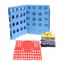 Clothes Folding Board T Shirt Folder Laundry Organizer Fast Flip Fold Ad... - $23.34
