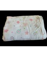 Summer Swaddle Me Infant Baby Blanket White Polka Dot Soft Muslin Rayon ... - $29.69