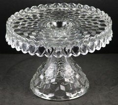 American Pattern, Line No. 2056, Round Cake Stand, made by Fostoria Glass Co. - $80.00