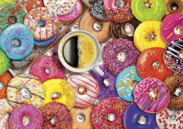 Buffalo Games - Vivid Collection - Aimee Stewart - Coffee and Donuts - 3... - $7.90