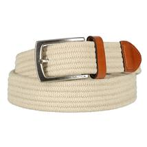 Nautica Men's Stretch Braided Leather 35MM Jabi Fabric Belt 11NU03X026 image 3