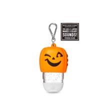 Bath & Body Works Scary Noise Making Jack-O-Lantern Pumpkin PocketBac Gel Holder - $14.87