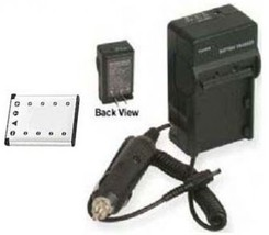 NP-82 NP82 Battery +Charger For Casio NP-82DBA EX-Z33VP EX-Z35 EX-Z35BE EXZ35BK - $26.08