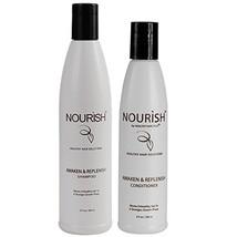 Nourish - Awaken And Replenish Combo – Hair Growth Shampoo & Conditioner for T - $32.07