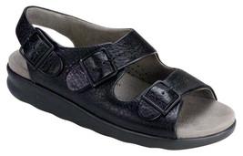 SAS Women's Shoes Relaxed Sandal Black 7 WW Double Wide FREE SHIPPING Ne... - $99.99