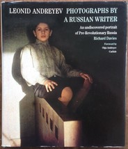 Leonid Andreyev Photographs by A Russian Writer R Davies 1st Print Thame... - $33.15