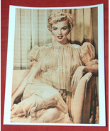 "8X10"" Color Photo of MARILYN MONROE Wearing Sexy Nightgown Reprint on AF... - $24.74"