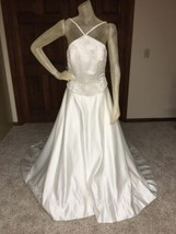 Bridal Original Wedding Dress Guessing Size 8 size tag missing see measurements  - $96.75