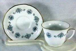Royal Worcester Blue Medallion Demitasse Cup And Saucer Set 2 oz. - $41.39