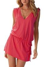 Womens Lace Short Sleeves Princess Dress Printing Beach Cover-up - $39.95