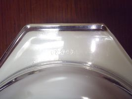 Vintage Pyrex Oval Gold Oak Leaves 1 1/2 Quart Baking Dish + Lid image 3