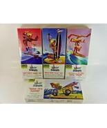 (4) Hawk Classics Silly Surfers Plastic Model Kits Hang Ten Bunny Tandem... - $42.22