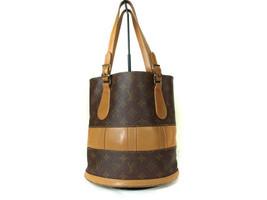 Auth Louis Vuitton Vintage Bucket Monogram Tote Bag, Shoulder Bag LS10108L - $225.00