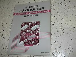 2007 Toyota FJ CRUISER Electrical Wiring Diagram Service Shop Repair Man... - $69.29