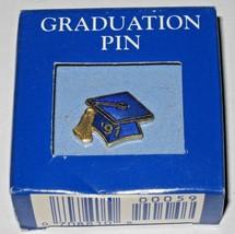 Hallmark 1991 Graduation Pin Tie Tac Mint in Original Box - $17.82