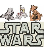 100+ Star Wars Embroidery PES JEF Designs in USB or Digital Download Emb... - $39.99+