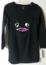 Target Cat & Jacket Monster L/S Pocket Mouth Sweatshirt Dress Black Size XS 4/5 - $14.84