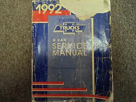 1992 GMC SAVANA CHEVY EXPRESS G Van Shop Service Repair Manual OEM BOOK ... - $22.72