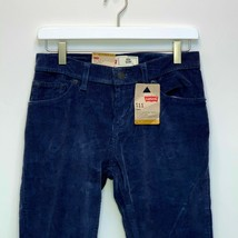 Levi's 511 Boys Slim Fit Blue Corduroys Size 14 - $29.67
